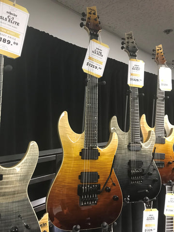 2018 schecter guitars