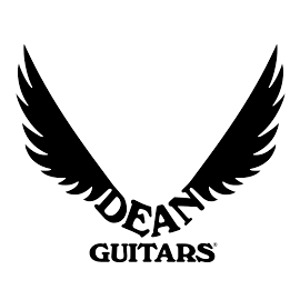 Dean Guitars Logo - left and right handed guitars and basses