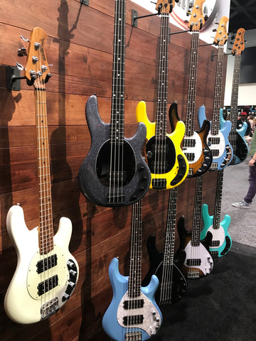 Ernie Ball Music Man Guitars NAMM Show 2018