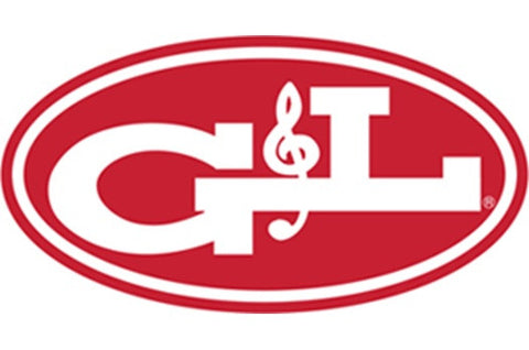 G&L logo Left-handed and right-handed guitars and basses