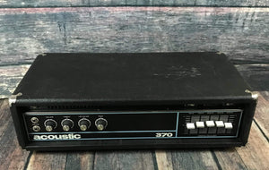 Acoustic Amp Used Acoustic 370 Bass Head