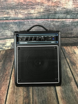 Acoustic Amp Used Acoustic AG-15 Acoustic Guitar Combo Amp