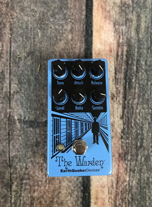 Adirondack Guitar Earthquaker Devices The Warden Optical Compressor Pedal