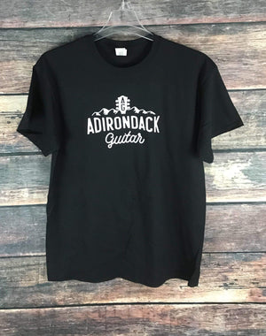 Adirondack Guitar merchandise Small Black Adk Guitar T-Shirt