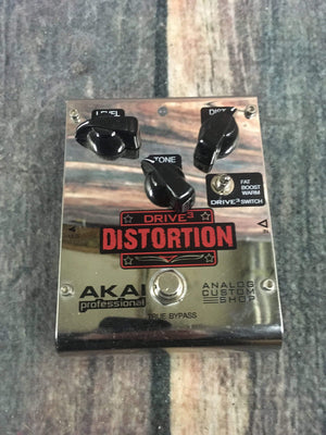 Akai pedal Used Akai Drive 3 Distortion Pedal