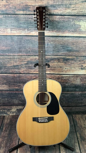 AMI-Guitars Acoustic Guitar AMI-Guitars JM12-TE 1 Series 12 String Acoustic Electric Guitar