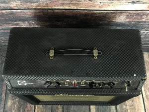 Ampeg Amp Used Ampeg 60's G-12 Rocket II Blue Tolex 1x12 Tube Combo Amp with Footswitch