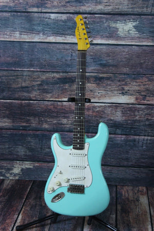 Angry Angus Electric Guitar Angry Angus Left Handed Surly Electric Guitar - Teal