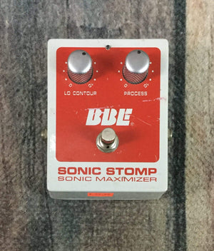 BBE pedal Used BBE Sonic Stomp Sonic Maximizer Pedal