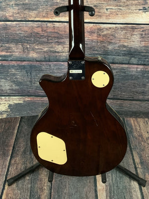 Bently Electric Guitar Used Bently Korean Made Single Cutaway Electric Guitar with Gig Bag