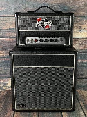 Blackheart Amp Used Blackheart Little Giant BH5H 5w Class A Tube Head with BH112 Guitar Speaker Cabinet
