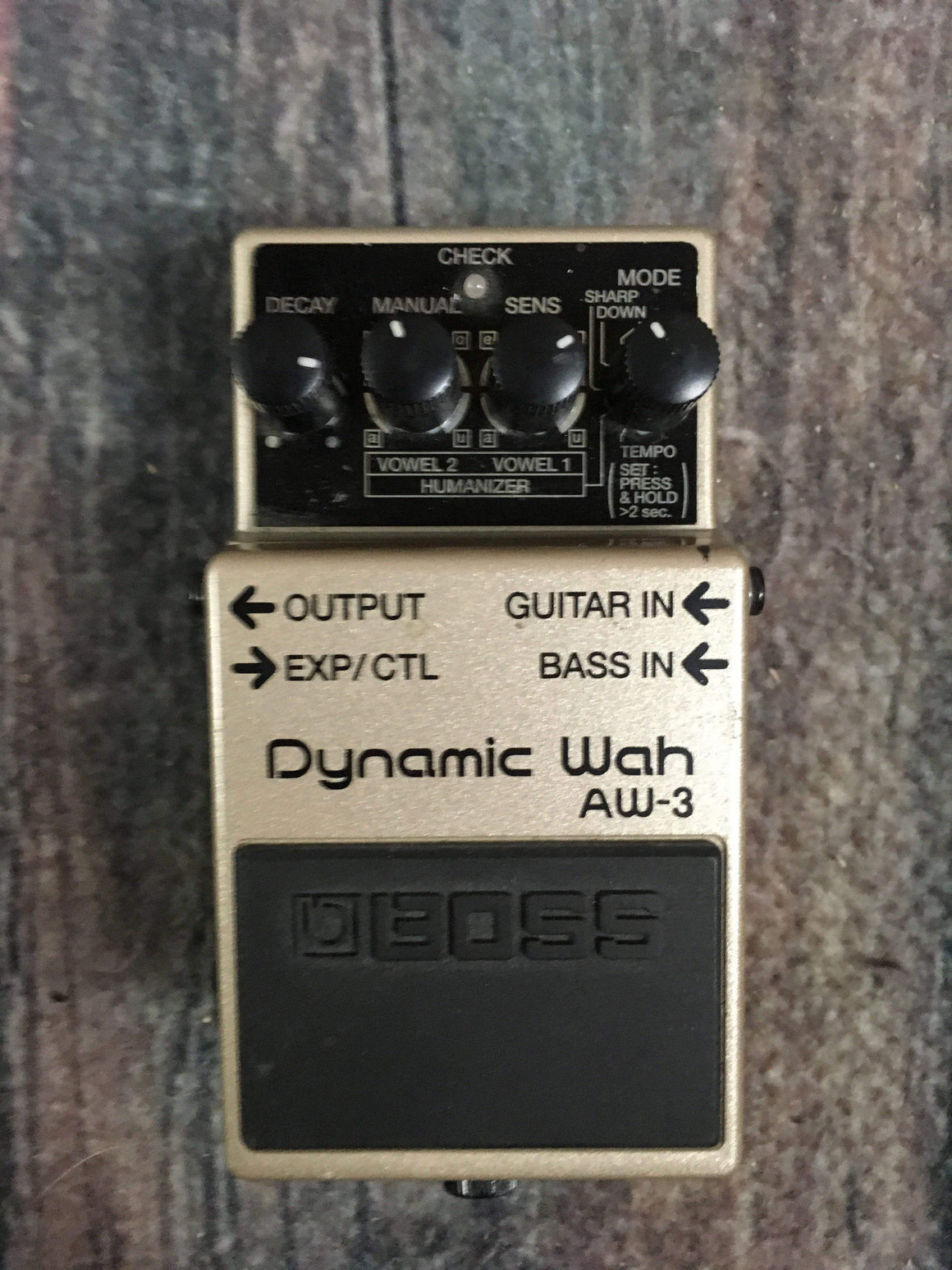 Boss pedal Used Boss AW-3 Dynamic Wah Pedal with Box