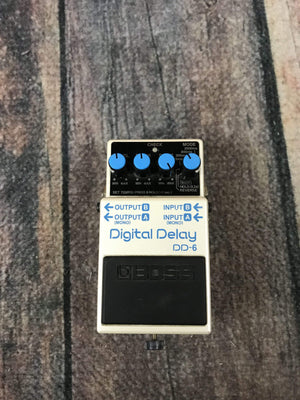 Boss pedal Used Boss DD-6 Digital Delay Pedal