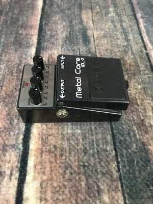 Boss pedal Used Boss ML-2 Metal Core Distortion Pedal