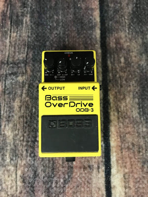 Boss pedal Used Boss ODB-3 Bass Overdrive Pedal