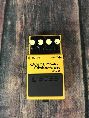 Boss pedal Used Boss OS-2 Overdrive/Distortion Pedal