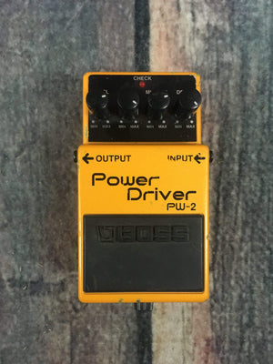 Boss pedal Used Boss PW-2 Power Driver Pedal