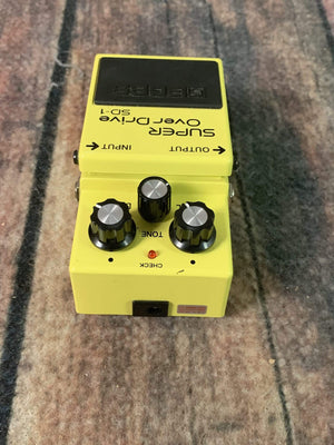 Boss pedal Used Boss SD-1 Super Overdrive Pedal