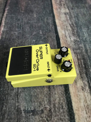Boss pedal Used Boss SD-1 Super Overdrive Pedal with Box