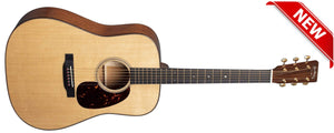 C.F. Martin Guitars Acoustic Electric Guitar Guitar and Case Martin D-18E Modern Deluxe Acoustic Electric Guitar