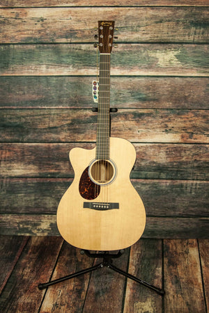 C.F. Martin Guitars Acoustic Electric Guitar Includes a hard shell case Martin Left Handed OMCPA4 Performing Artist Series Acoustic Guitar