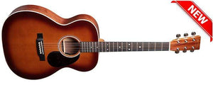C.F. Martin Guitars Acoustic Guitar Guitar and Case Martin 000E Black Walnut Ambertone Acoustic Electric Guitar