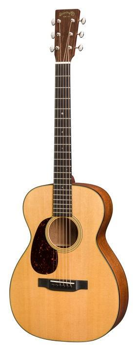 C.F. Martin Guitars Acoustic Guitar Guitar and Case Martin Left Handed 0-18 Standard Series Acoustic Guitar