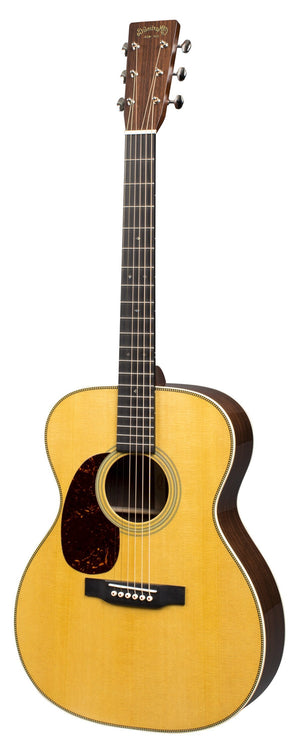 C.F. Martin Guitars Acoustic Guitar Guitar and Case Martin Left Handed 000-28 Standard Series Acoustic Guitar
