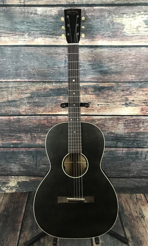C.F. Martin Guitars Acoustic Guitar Guitar and Case Martin Left Handed 00L-17E Black Smoke Acoustic Electric Guitar