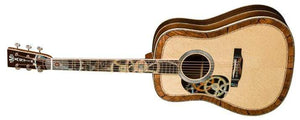 C.F. Martin Guitars Acoustic Guitar Guitar and Case Martin Left Handed D-200 Deluxe Acoustic Guitar