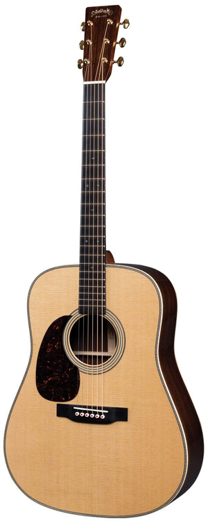 C.F. Martin Guitars Acoustic Guitar Guitar and Case Martin Left Handed D-28 Modern Deluxe Acoustic Guitar