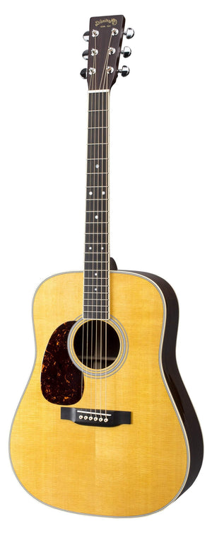 C.F. Martin Guitars Acoustic Guitar Guitar and Case Martin Left Handed D-35 Standard Series Acoustic Guitar