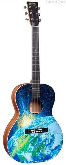 C.F. Martin Guitars Acoustic Guitar Guitar and Case Martin OOL Earth Special Edition Acoustic Guitar