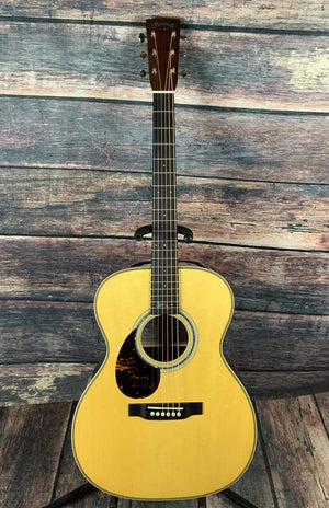 C.F. Martin Guitars Acoustic Guitar Includes a hard shell case Martin Left Handed OMJM John Mayer Acoustic Guitar