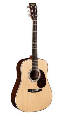 C.F. Martin Guitars Acoustic Guitar Includes Hard Shell Case Martin Right Handed HD-28 Acoustic Guitar