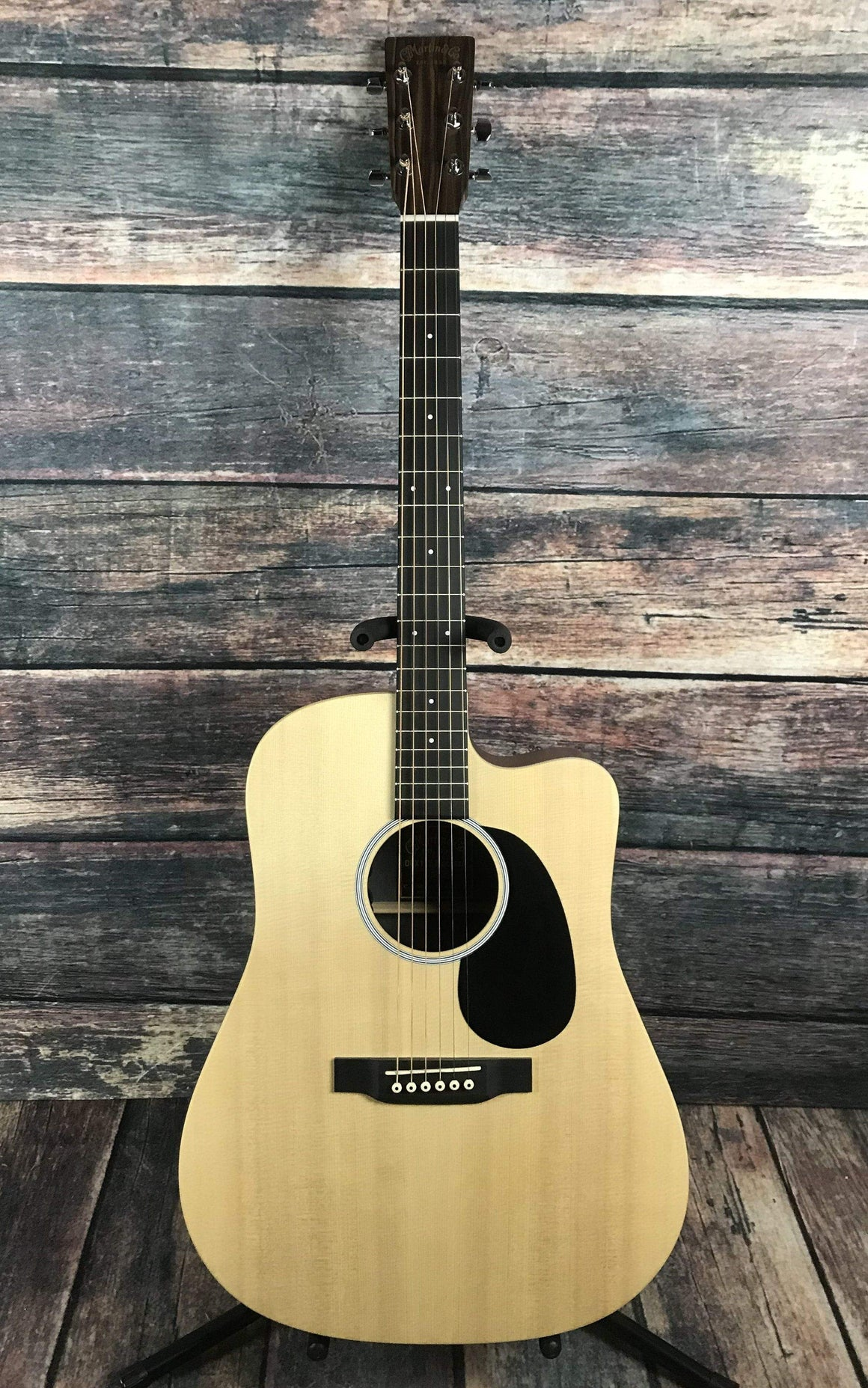 C.F. Martin Guitars Acoustic Guitar Martin DCX1AE Macassar Acoustic Electric Guitar