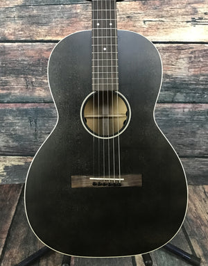 C.F. Martin Guitars Acoustic Guitar Martin Left Handed 00L-17E Black Smoke Acoustic Electric Guitar