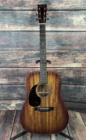 C.F. Martin Guitars Acoustic Guitar Martin Left Handed 16 Series D-16E Burst Ovangkol Acoustic Electric Guitar