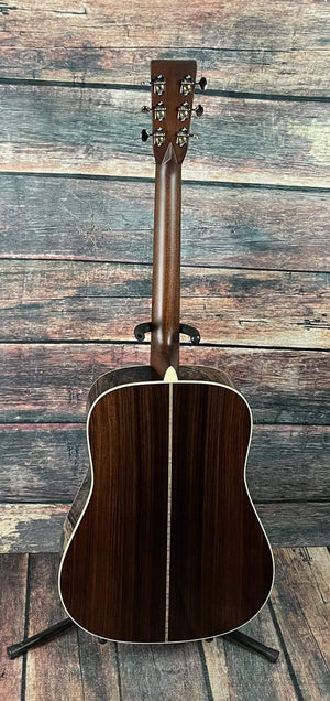 "C.F. Martin Guitars Acoustic Guitar Martin Left Handed Custom ""D"" Adirondack Spruce Top Custom Shop Acoustic Guitar"