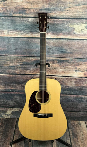 C.F. Martin Guitars Acoustic Guitar Martin Left Handed D-18 Standard Series Acoustic Guitar