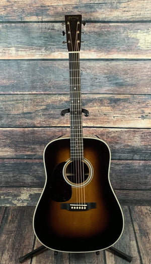 C.F. Martin Guitars Acoustic Guitar Martin Left Handed D-28 1935 Sunburst Acoustic Guitar