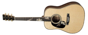 C.F. Martin Guitars Acoustic Guitar Martin Left Handed D-42 Purple Martin Flamed Myrtle Acoustic Guitar