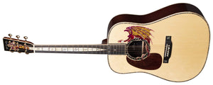 C.F. Martin Guitars Acoustic Guitar Martin Left Handed D-45 Excalibur Acoustic Guitar