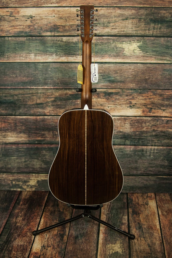 C.F. Martin Guitars Acoustic Guitar Martin Left Handed D28-12 Acoustic 12 String Guitar