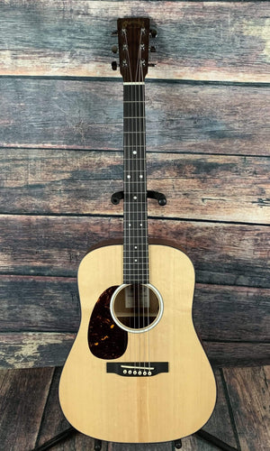 C.F. Martin Guitars Acoustic Guitar Martin Left Handed DJR-10E Dreadnought JR Acoustic Electric Guitar