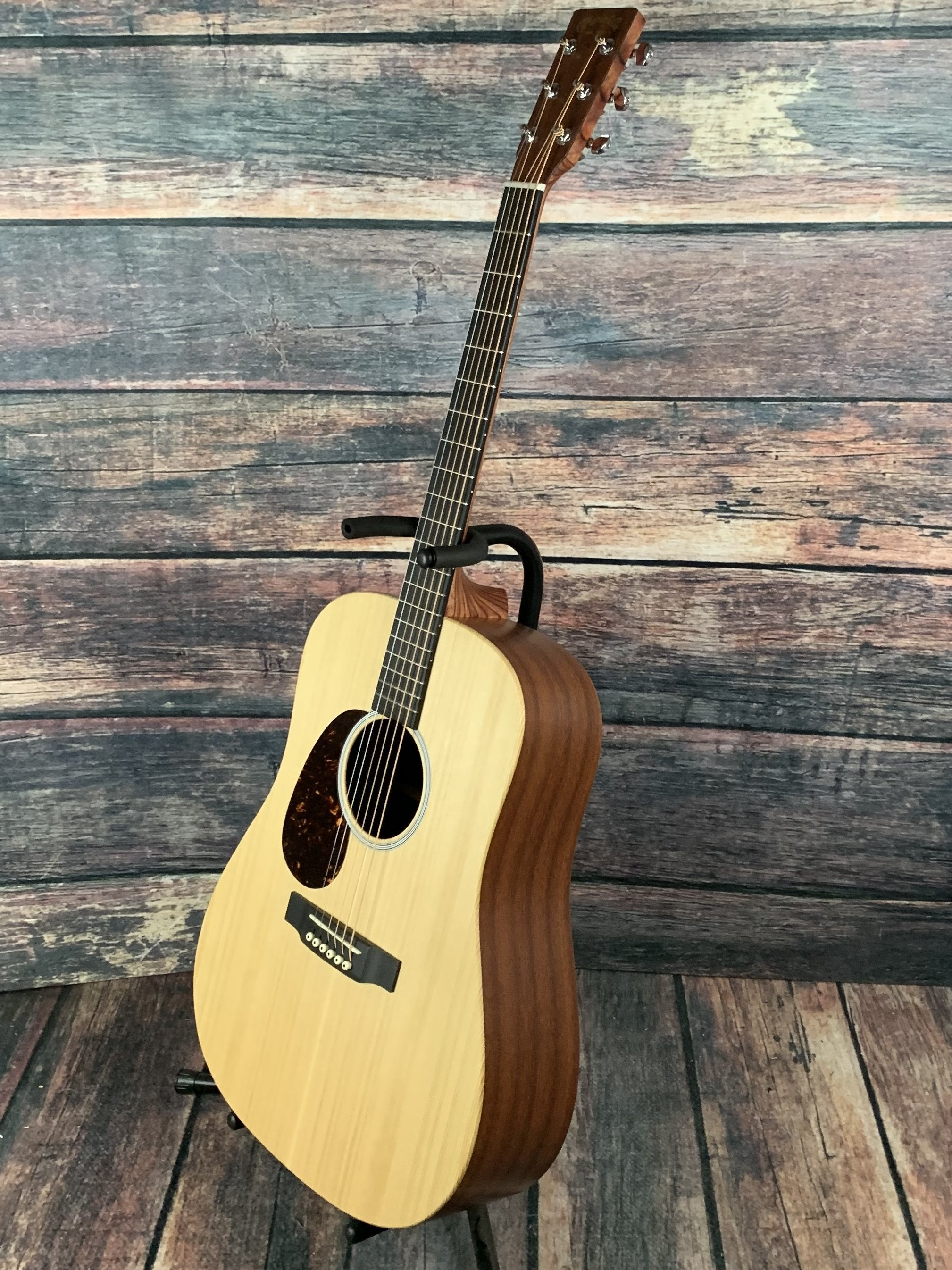 martin left handed dx1ae custom x series dreadnought acoustic electric. Black Bedroom Furniture Sets. Home Design Ideas