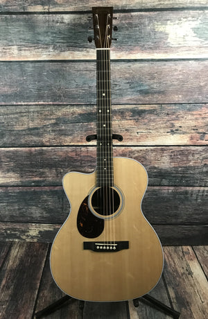 C.F. Martin Guitars Acoustic Guitar Martin Left Handed OMCPA4 Rosewood Acoustic Electric Guitar