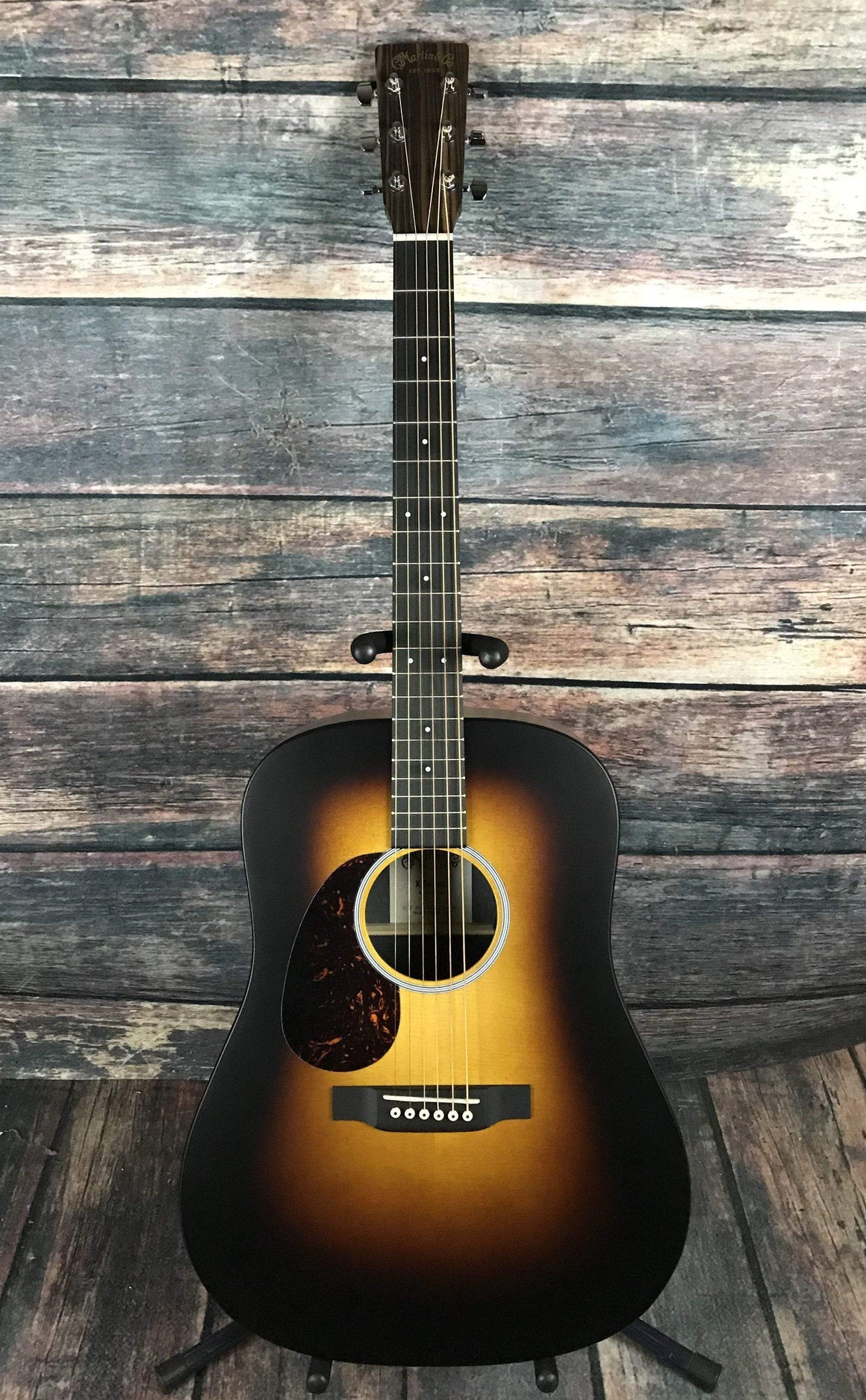 C.F. Martin Guitars Acoustic Guitar Martin Left Handed X-Series DX1AE Macassar Burst Acoustic Electric Guitar