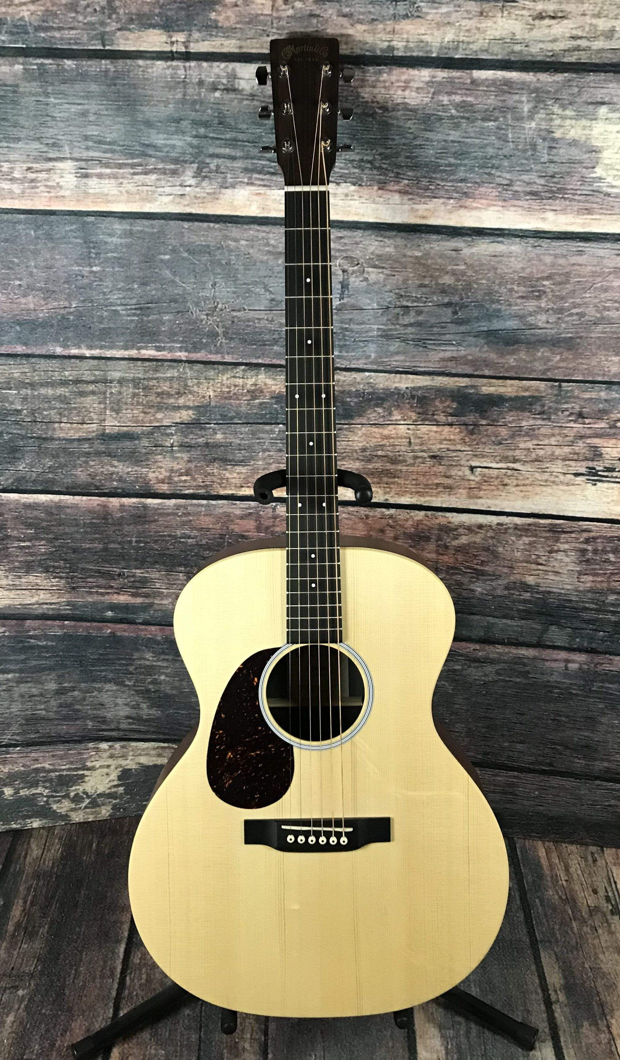 martin left handed x series gpx1ae grand performance acoustic electric. Black Bedroom Furniture Sets. Home Design Ideas