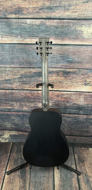 C.F. Martin Guitars Acoustic Guitar Martin LX Black Little Martin Acoustic Short Scale Guitar with Gig Bag